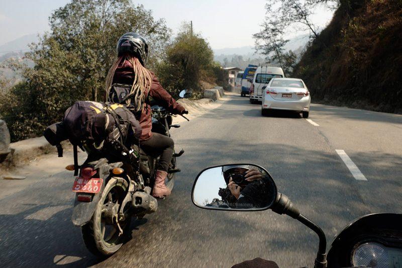 Rent motorcycle in Kathmandu