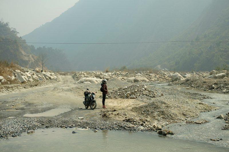 Kathmandu Chitwan road