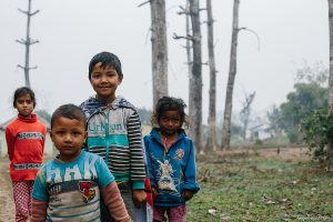 Children in Chitwan