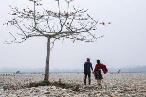 Walking in Chitwan, Nepal