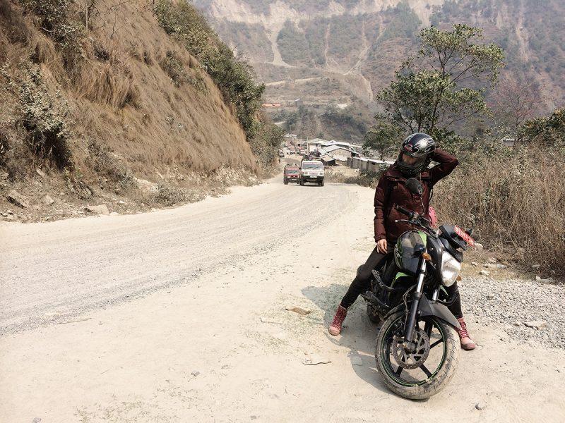 Motor travel Nepal