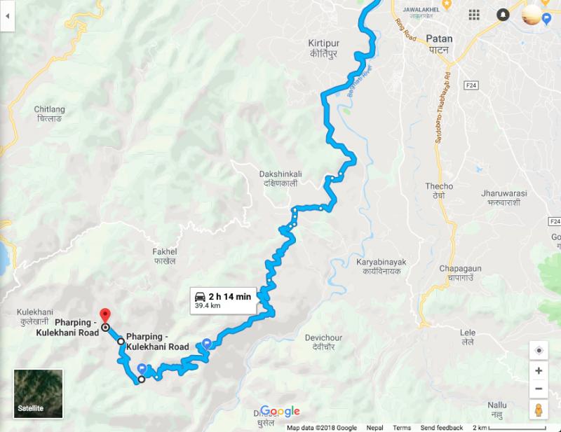 Kathmandu Chitwan way