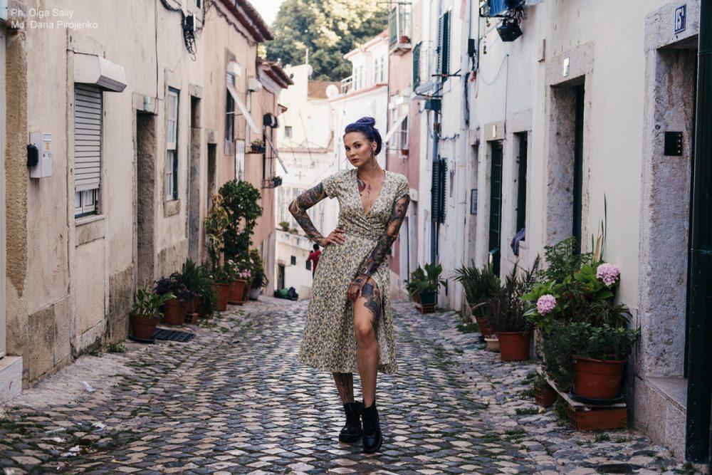 Дарья Пироженко. Фотосессия в Лиссабоне (14)