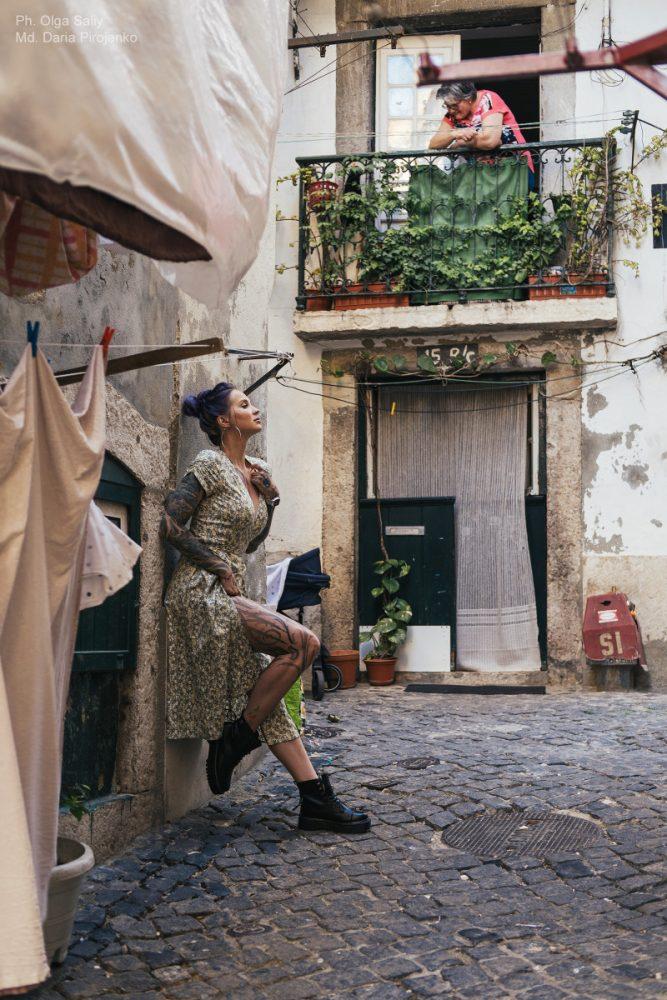 Дарья Пироженко. Фотосессия в Лиссабоне (9)