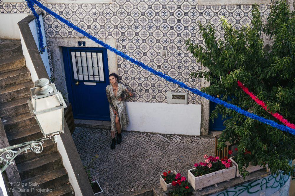 Дарья Пироженко. Фотосессия в Лиссабоне (2)