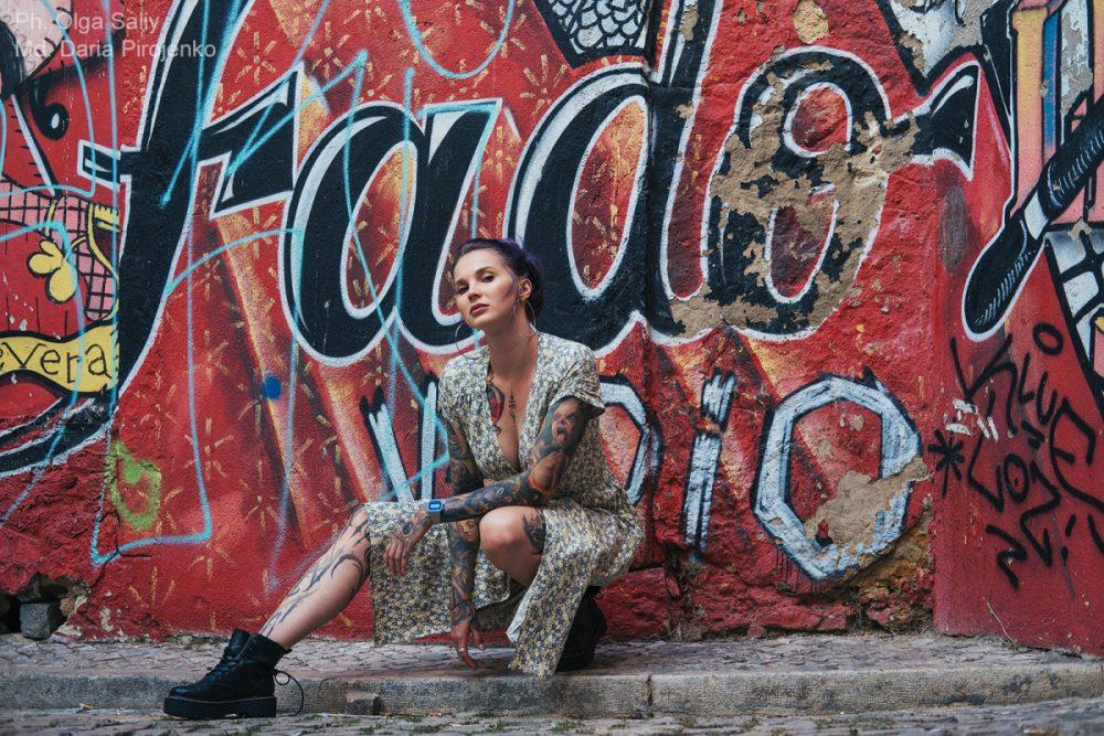 Дарья Пироженко. Фотосессия в Лиссабоне (1)
