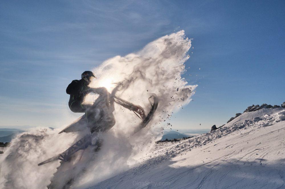 Snowbike rents in Russia Siberia
