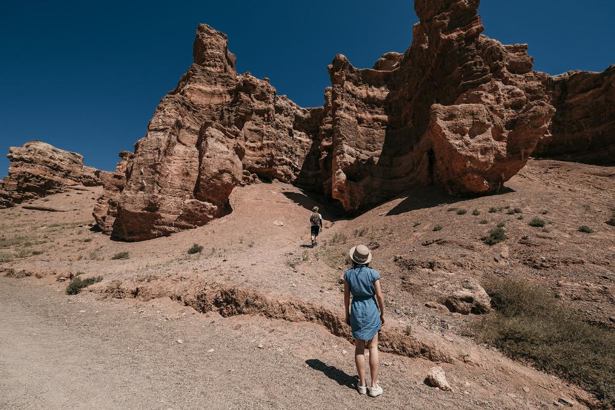 Prewedding Travelling in Kazakhstan, Charyn Canyon