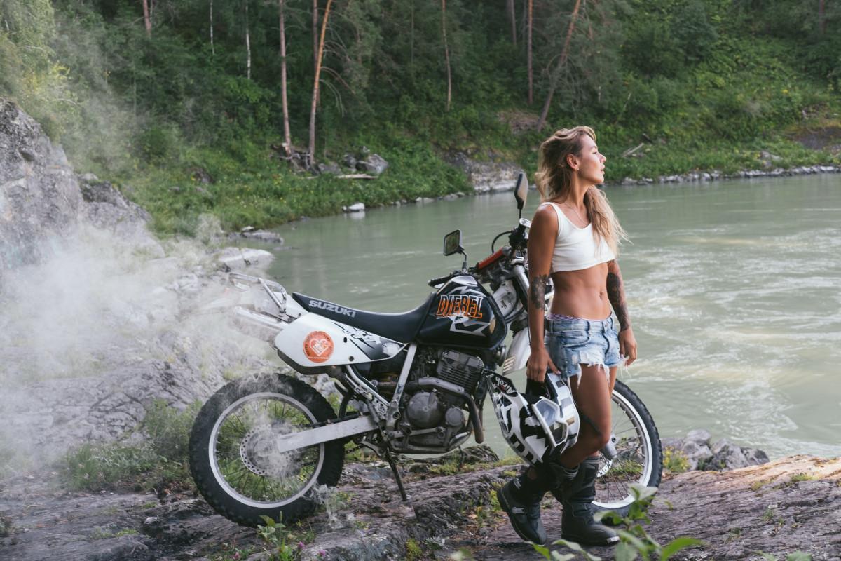 Altai mountains enduro motorcycle travel guide