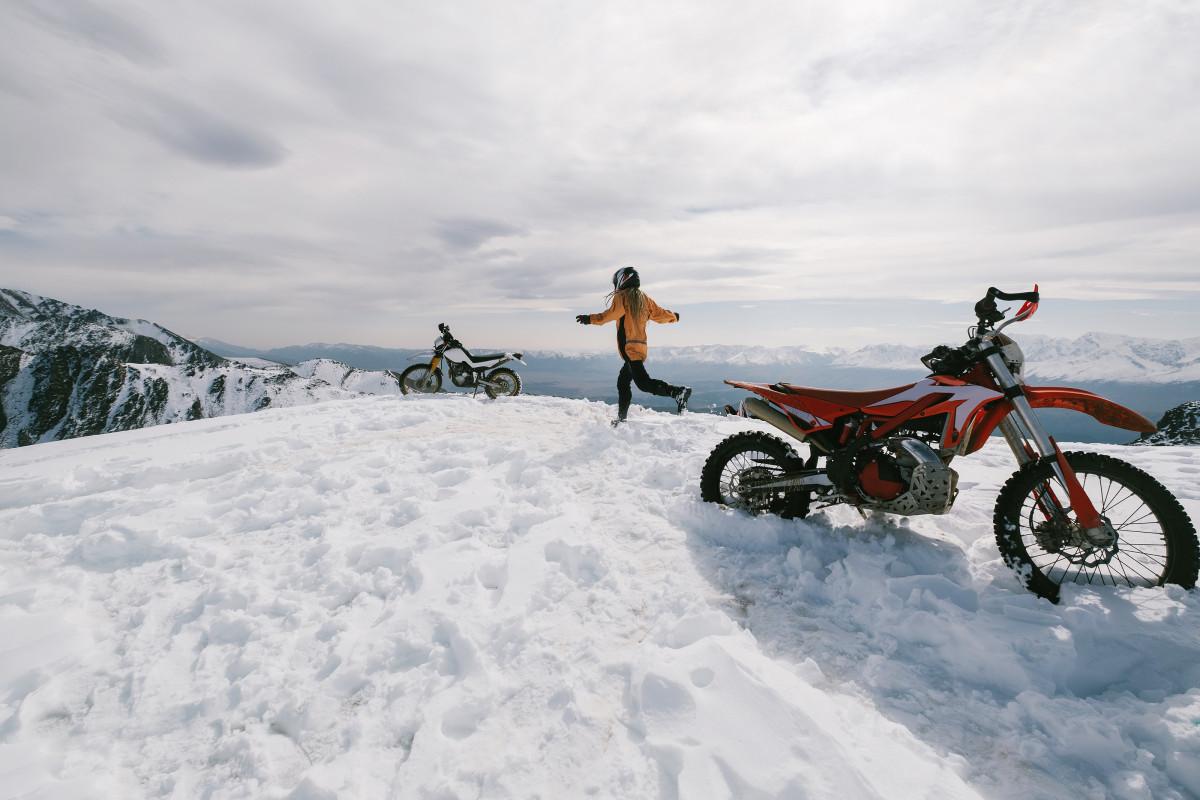 Altai Mountains enduro motorcycle travelling
