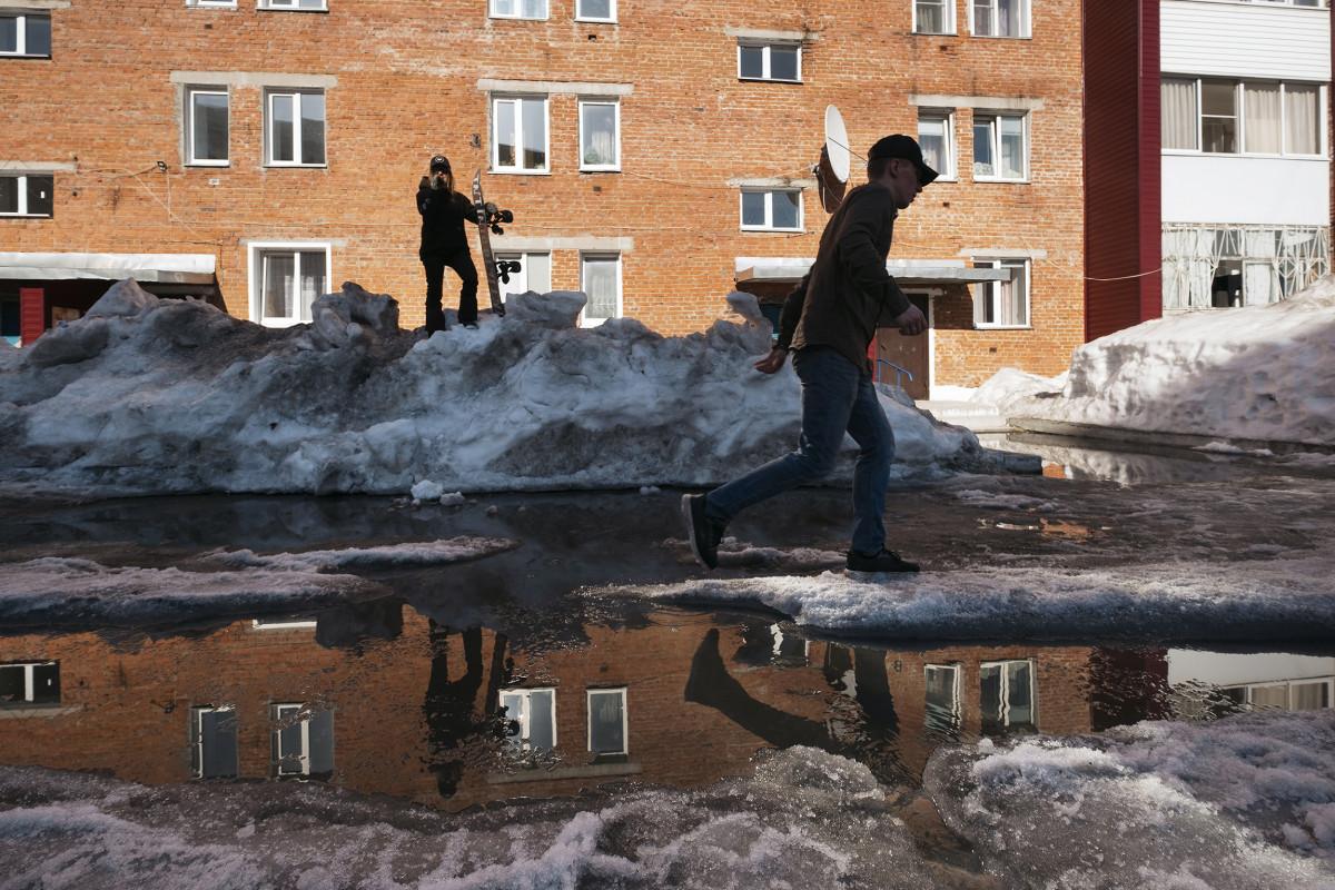 Urban Snowboarding Russia