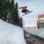 Sheregesh Siberian Urban Snowboarding