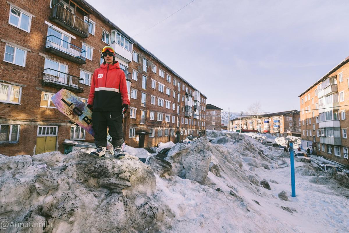 Sheregesh Snowboarders