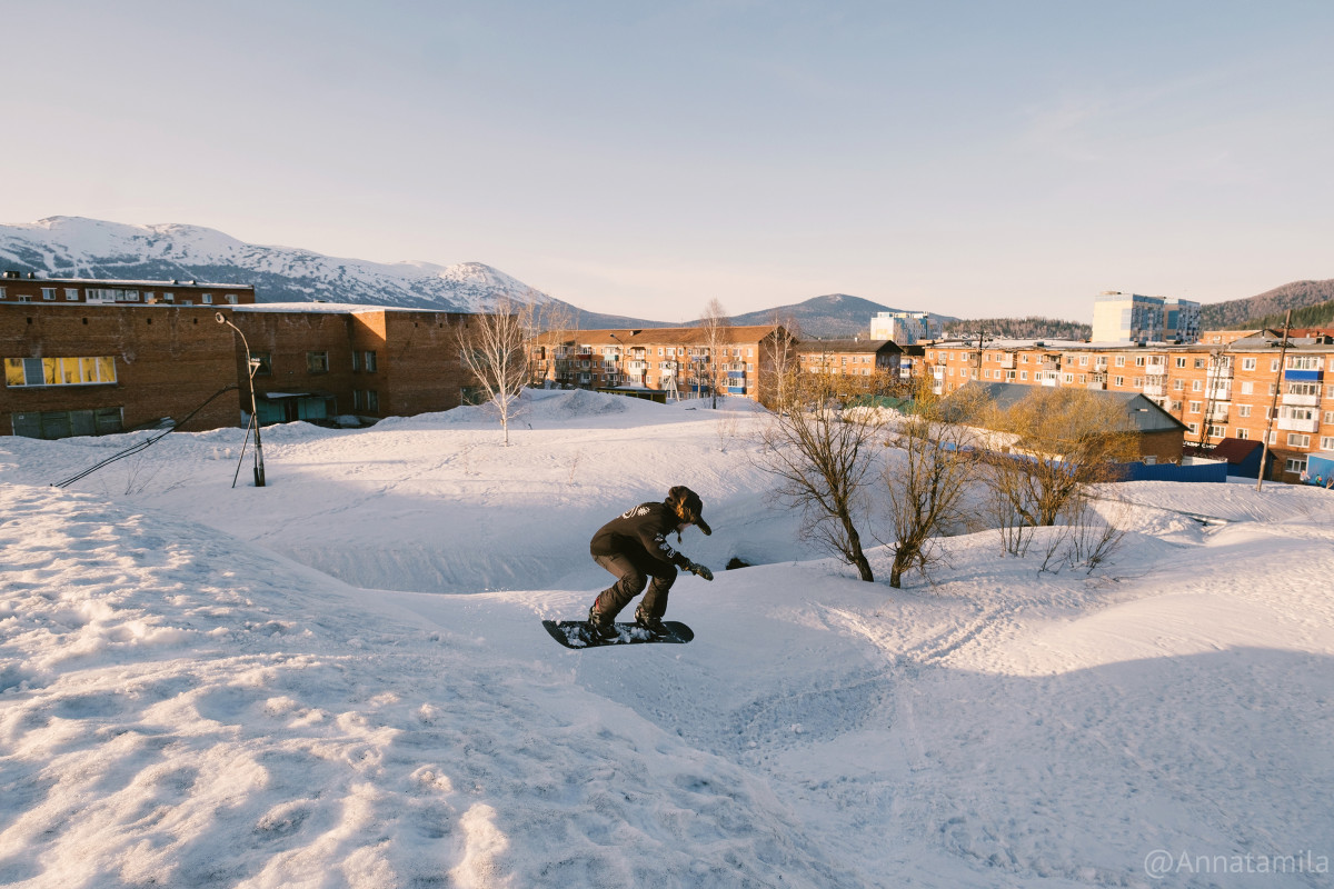 Sheregesh Street Snowboard