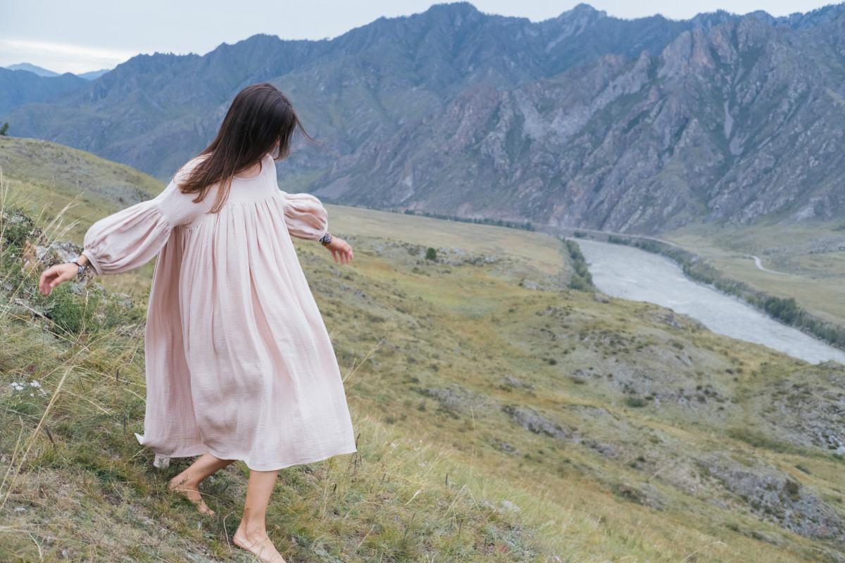 Altai mountains photoshoot