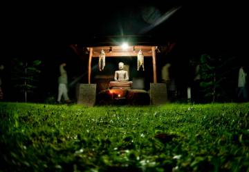 Thailand meditation center Dipabhavan. Seven days of silence