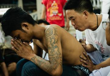 Sak Yant, Magic Tattoos in Thailand: where and how to get