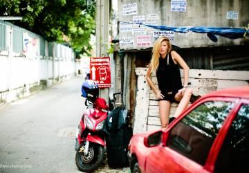 Cristina Maria Saracut. Europe fashion in Bangkok